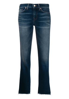 7 For All Mankind Roxanne cropped jeans - Blue