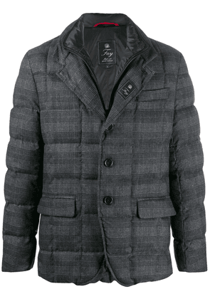 Fay quilted down jacket - Grey