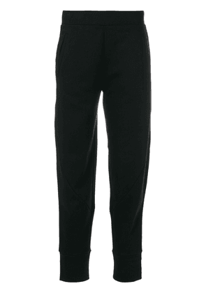 Armani Jeans tapered casual trousers - Black