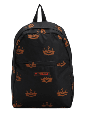 All Over Print Backpack W/ Patches