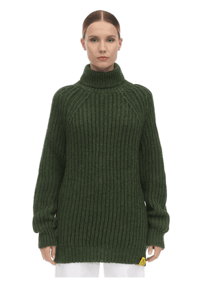 Hand Wool Blend Knit Jumper