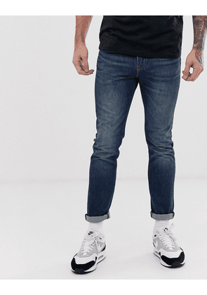 Levi's 510 skinny fit standard rise jeans in megamouth warp cool dark wash-Blue