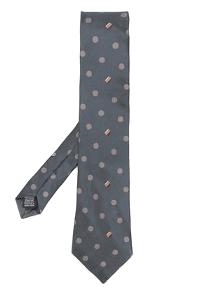 Paul Smith spotted tie - Grey