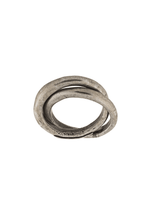 Goti intertwined ring - Silver
