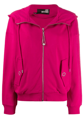 Love Moschino hooded jacket - Pink