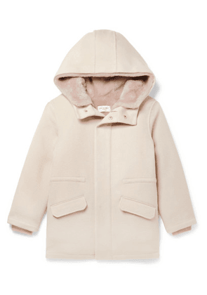 Yves Salomon Kids - Ages 8 - 12 Faux Shearling-lined Merino Wool And Cashmere-blend Parka