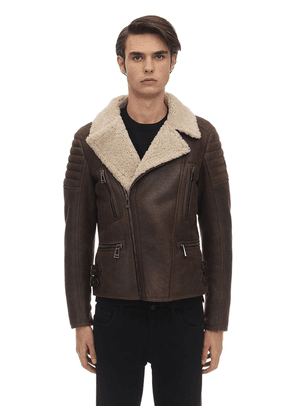 Fraser Lightweight Shearling Jacket