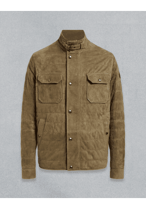 Belstaff DRIVING SUEDE JACKET Green UK 40 /