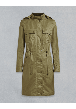 Belstaff COTTLE WAXED PARKA Green UK 8 /