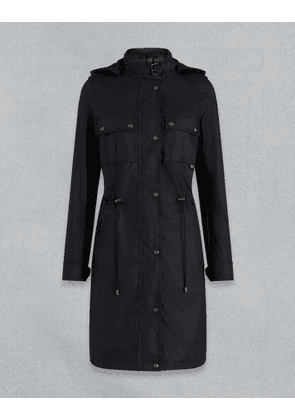 Belstaff COTTLE WAXED PARKA Black UK 4 /