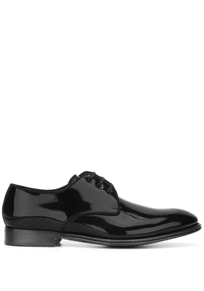 Dolce & Gabbana piped Derby shoes - Black