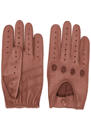 Gala Gloves perforated driving gloves - Brown