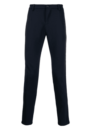 Dolce & Gabbana side stripe tailored trousers - Blue