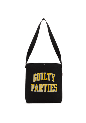 Wacko Maria Black Guilty Parties Type 2 Shoulder Tote
