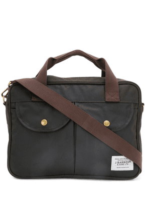 Barbour multi-carry briefcase - Green