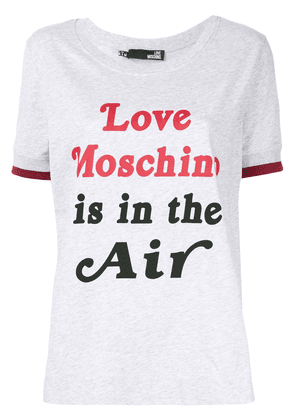 Love Moschino Love Is In The Air T-shirt - Grey