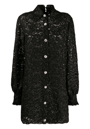 Gucci lace mini dress - Black