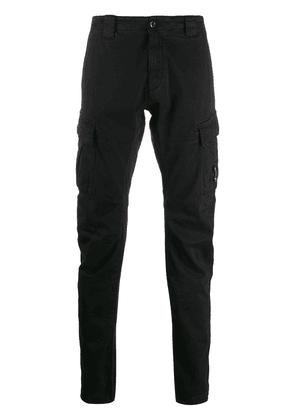 CP Company lens pocket cargo trousers - Black