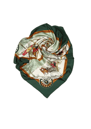 Bull And Mouth Regents Circus Piccadilly Silk Scarf