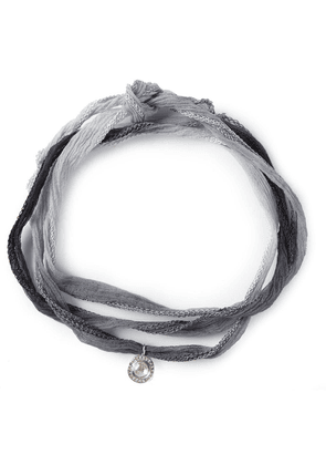 Christian Koban 'Slice' diamond necklace - Grey