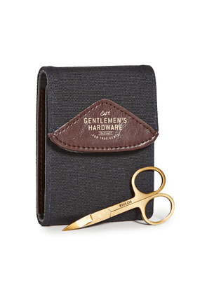 East Dane Gifts Navy Canvas Manicure Set