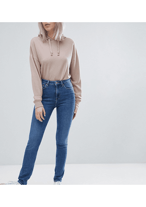 Weekday Thursday High Waist Skinny Jeans-Blue