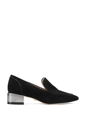 Stuart Weitzman - The Carmella Loafer In Black - Size 42