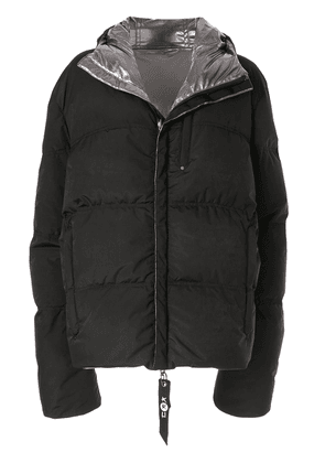 Kru reversible down puffer jacket - Black