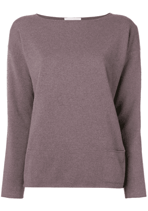 Fabiana Filippi long-sleeve fitted sweater - Pink