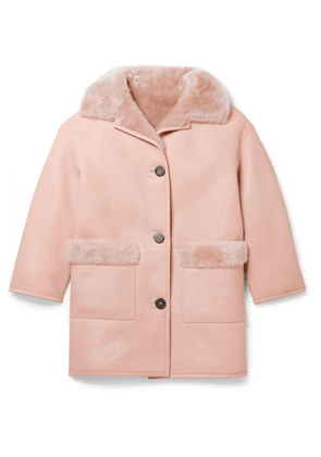 Yves Salomon Kids - Age 8 - 10 Shearling Coat
