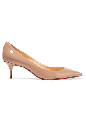 Christian Louboutin - Pigalle Follies 55 Patent-leather Pumps - Baby pink