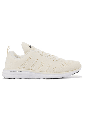 APL Athletic Propulsion Labs - Techloom Pro Mesh Sneakers - Off-white