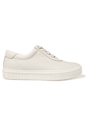 both - Leather Sneakers - White