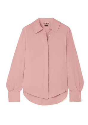 TOM FORD - Silk Crepe De Chine Blouse - Pink