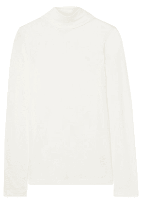 J.Crew - Cotton-jersey Turtleneck Top - White