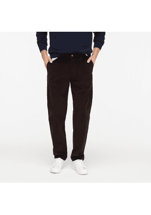 Wallace & Barnes straight-fit double-pleated corduroy pant