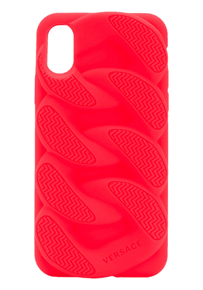 Versace Chain Reaction iPhone X case - Red