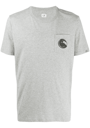 CP Company Lens print relaxed-fit T-shirt - Grey