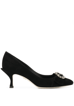 Dolce & Gabbana embellished pointed pumps - Black