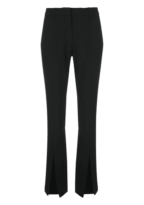 A.L.C. Conway slit flared trousers - Black
