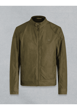 Belstaff KELLAND WAXED JACKET Green UK 34 /