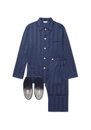 Derek Rose - Sleepwear Gift Set - Navy