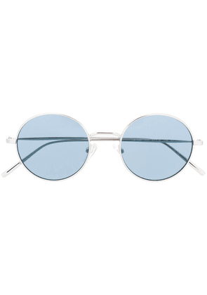 DKNY DK105S round tinted sunglasses - SILVER