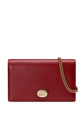 Gucci GG chain wallet - Red