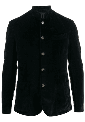 Eleventy fitted buttoned jacket - Blue