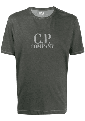 CP Company logo print relaxed-fit T-shirt - Grey