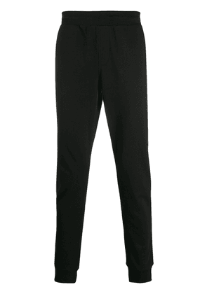 Tommy Hilfiger logo patch track pants - Black
