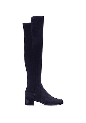 Stuart Weitzman - The Reserve Boot In Navy - Size 38.5