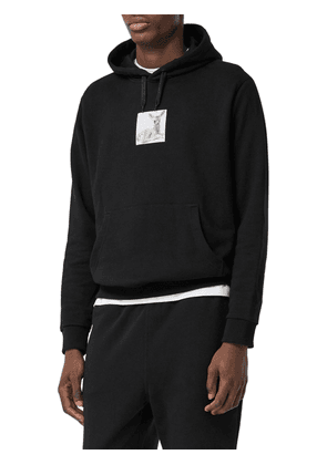 Oversize Printed Cotton Jersey Hoodie