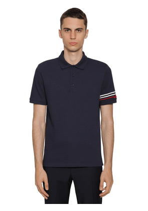 Polo Shirt W/ Embellished Logo
